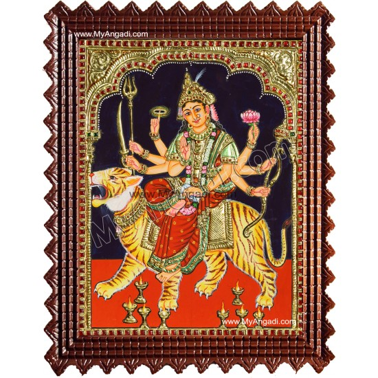 Durgai Tanjore Painting