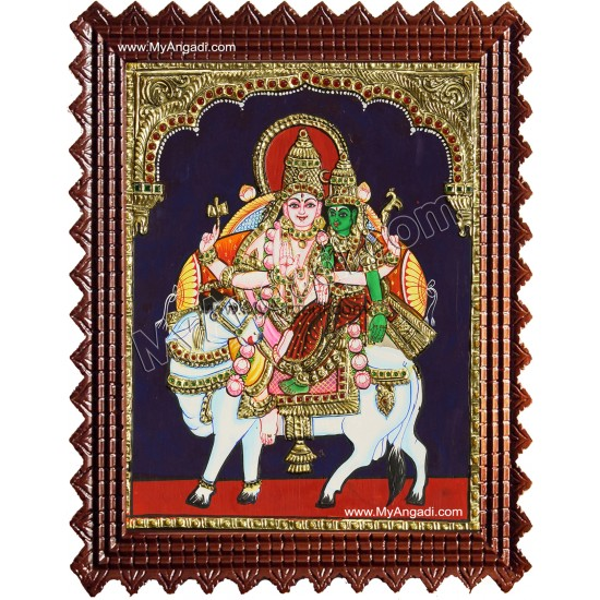 Pradosham Sivan Tanjore Painting