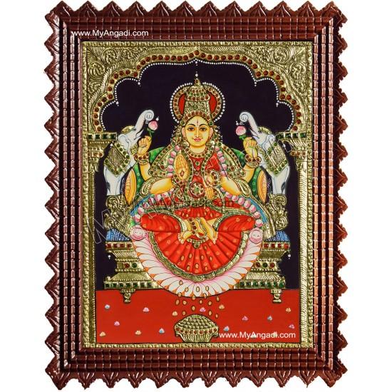 Gajalakshmi Tanjore Painting MATP266