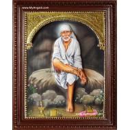 Shirdi Sai Baba Tanjore Painting