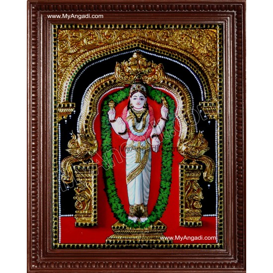 Kannika Parameswari Tanjore Painting
