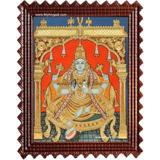 Dhanwantri Tanjore Painting