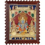 Vaikundanathan Tanjore Painting