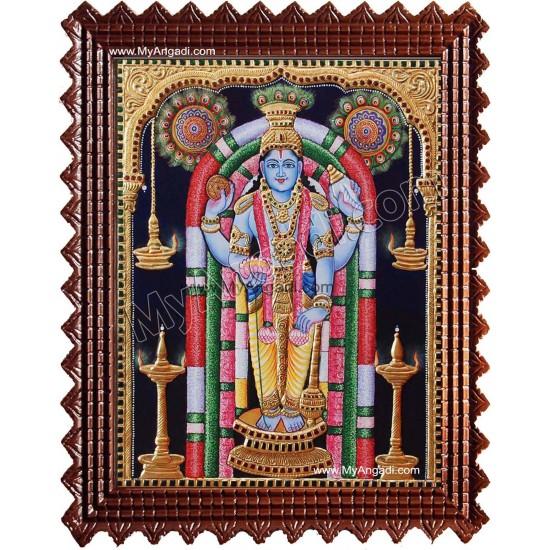 Guruvayurappan Tanjore Painting