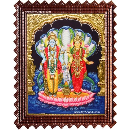 Lakshmi Narayanan Tanjore Painting