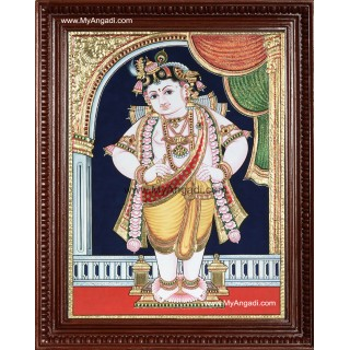 Vittobha Krishna Tanjore Painting