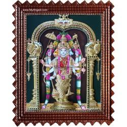Dasavatharam Super Emboss Tanjore Painting