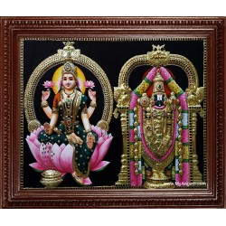 Balaji Lakshmi Super Emboss Tanjore Painting