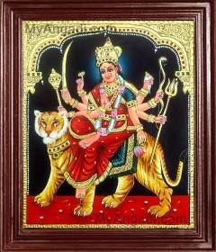 Durgai Tanjore Paintings