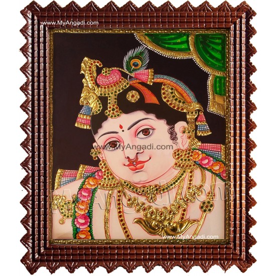 BalaKrishna Tanjore Painting