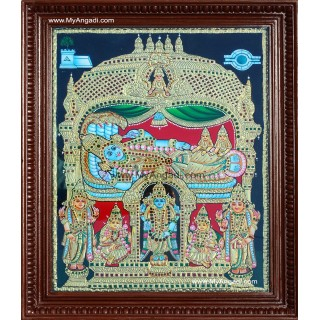 Ranganathar Tanjore Paintings
