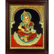 Annapurna Tanjore Painting
