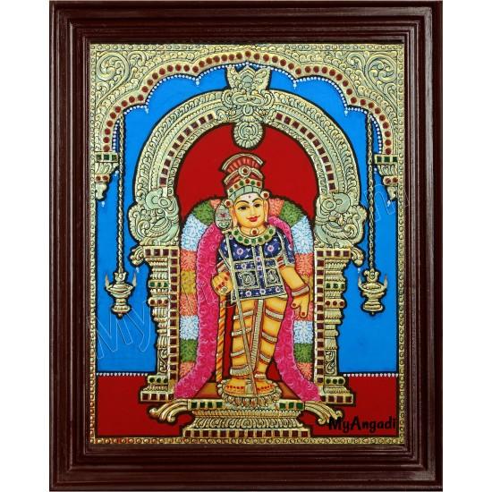 Kumaramalai Murugan Tanjore Painting