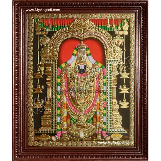 Tirupathi Balaji Tanjore Paintings