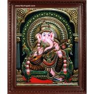 Ganesh Ji Tanjore Paintings