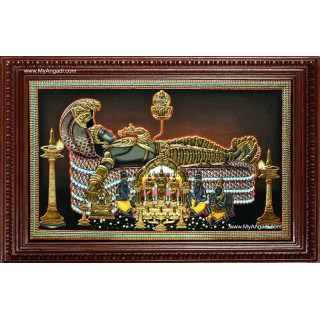 Sree Padmanabhaswamy Tanjore Paintings