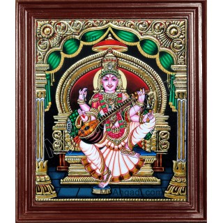 Saraswati Tanjore Paintings