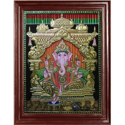 Ganapathi Tanjore Paintings