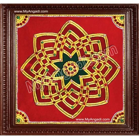 Aiswarya Kolam Tanjore Painting