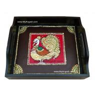 Tamboolam Tray - Tanjore Painting