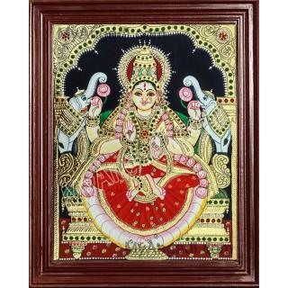 Laxmi Tanjore Paintings