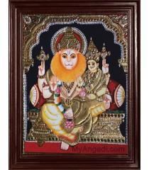 Lakshmi Narasimmar Tanjore Paintings