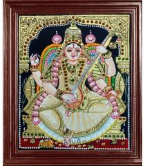 Saraswathi Tanjore Paintings