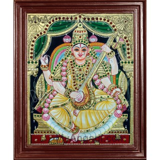 Saraswathi Tanjore Paintings