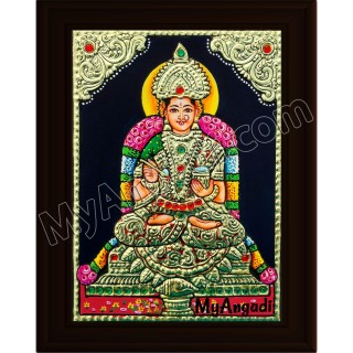 Annapoorani Small Tanjore Painting