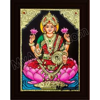 Lakshmi Small Tanjore Painting