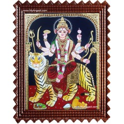 Durgai Amman Tanjore Paintings