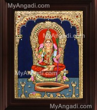 Lalitha & Kamatchi Tanjore Paintings