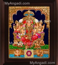 Other Goddess  Tanjore Paintings