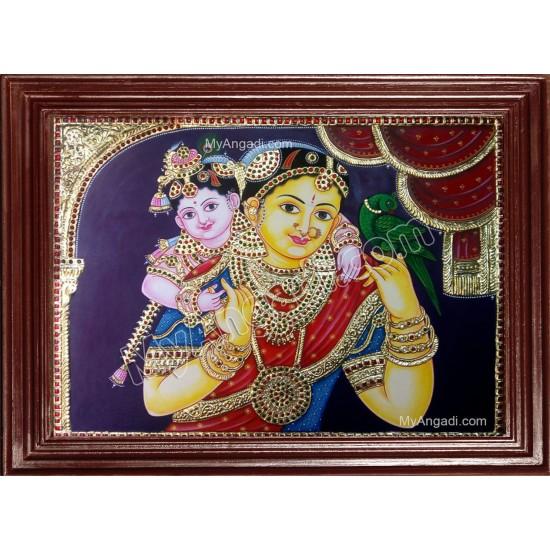 Yasodha Krishna Tanjore Paintings