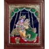 Jhoola Radha Krishna Tanjore Painting, Krishna Tanjore Painting