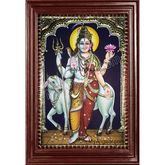 Ardhnarishwar Tanjore Paintings