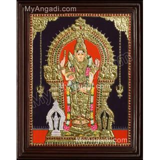 Thiruchendur Murugan Tanjore Painting