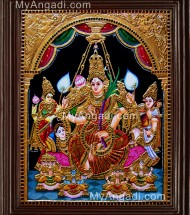 Raja Rajeshwari Tanjore Paintings
