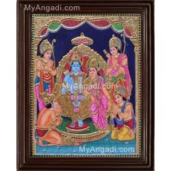 Ramar Durbar Tanjore Painting