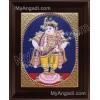 Oval Vitoba Krishna Tanjore Painting, Krishna Tanjore Painting