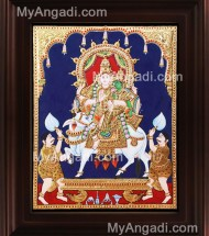 Sivan Tanjore Paintings