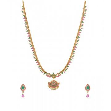 Haram Micro Plated AD Stone Jewellery