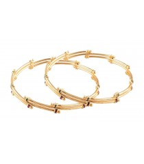 Gold Bangle - Micro Plated