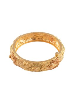 Gold Kada Bangle - One Gram Gold