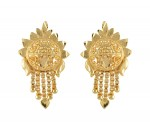 Earrings Gold Micro Plated