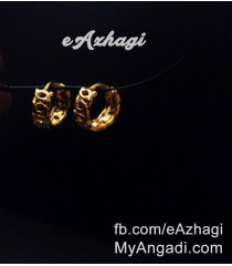 Bali Gold Plated Earrings