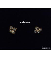 Side Top Earrings Micro Plated