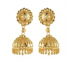 Gold Imitation Jumukka Earring