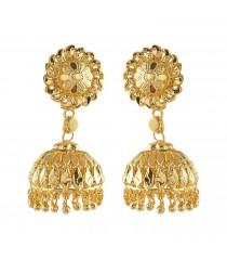 Gold Imitation Jumukka Earring