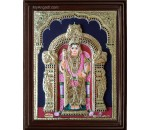 Murugan Double Emboss Tanjore Painting